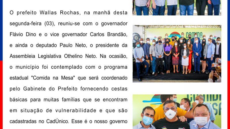 GOVERNO DO MARANHÃO BENEFICIA MAIS DE 700 FAMÍLIAS COM CESTAS BÁSICAS EM SÃO BENEDITO DO RIO PRETO/MA
