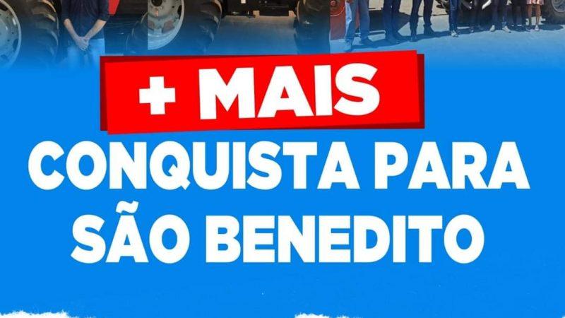 Após regularizar o Cauc a Prefeitura municipal de São Benedito do Rio Preto começa a conveniar com o Estado e com o governo federal.